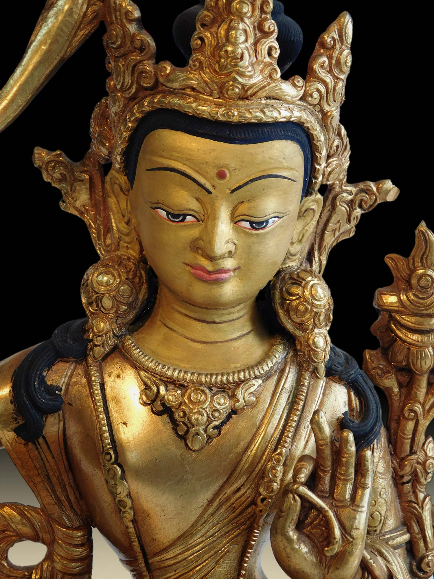 Manjushri close up