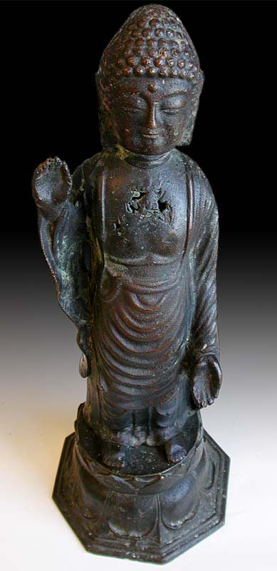 Korean Bronze Buddha