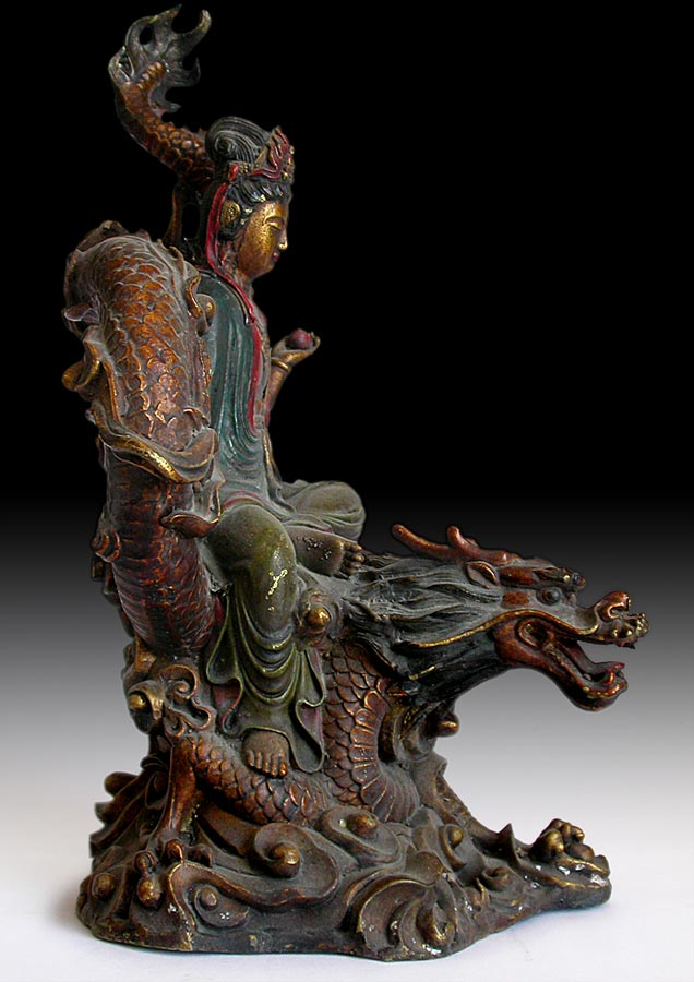 Kuanyin on Dragon