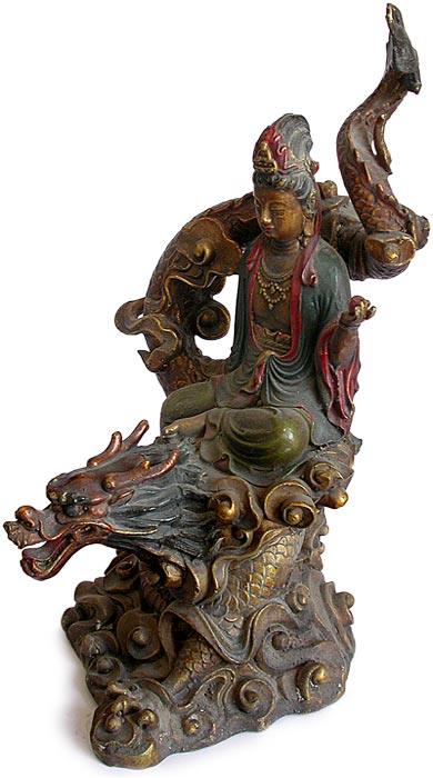 Bronze Dragon Kuanyin