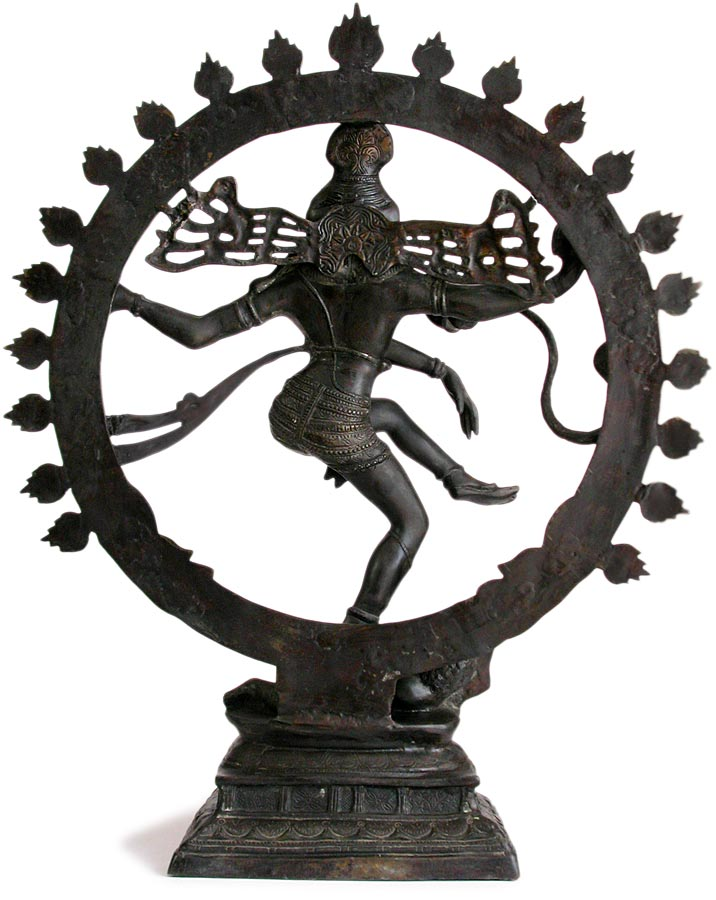 Shiva Nataraja  back view