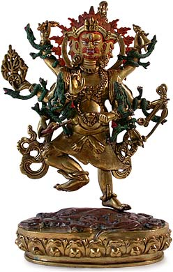Three Headed Vajrapani