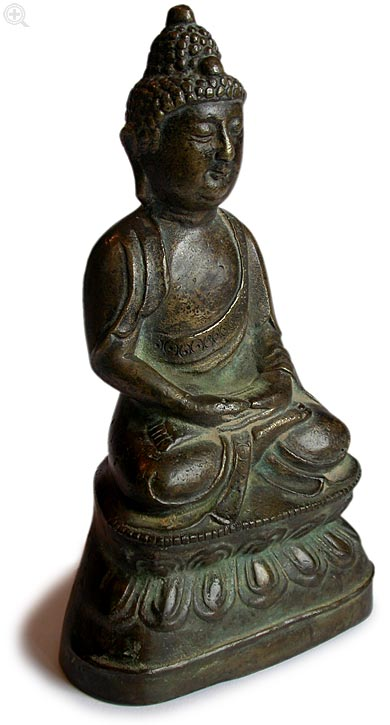 Bronze Amitabha Right