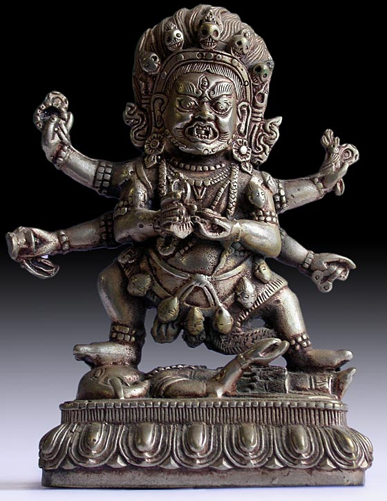 Six-armed Mahakala