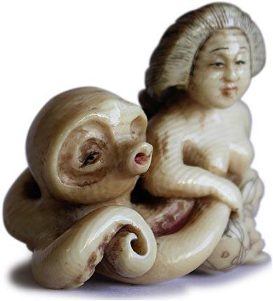 Erotic octopus