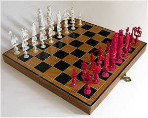 Large Ivory Chess