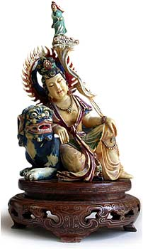 Ivory Quanyin on Foo Dog