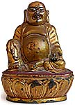 Gilt Happy Buddha